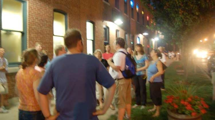 Haunted downtown ghost walk 1