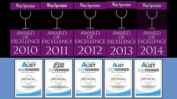 Tastings awards