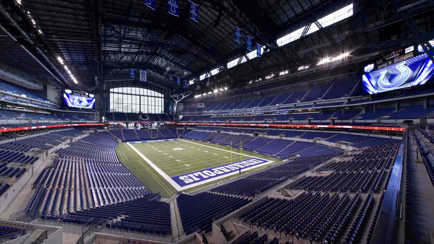 Lucas oil stadium 9