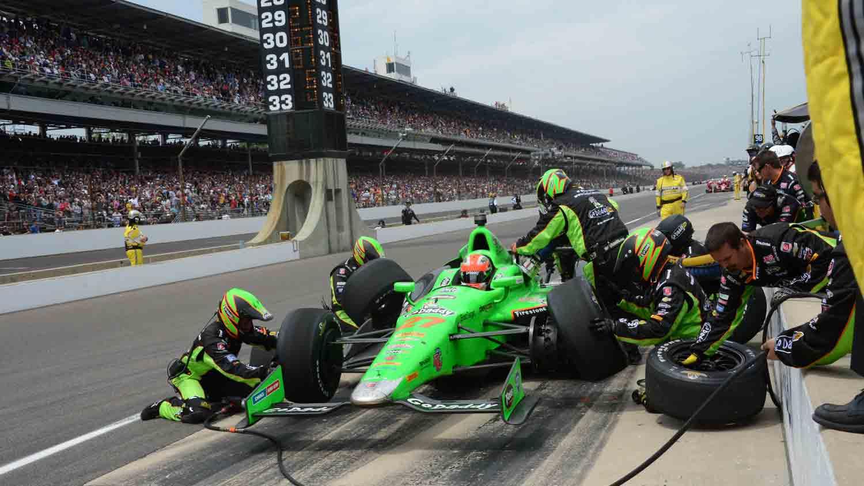 Indianapolis motor speedway 14
