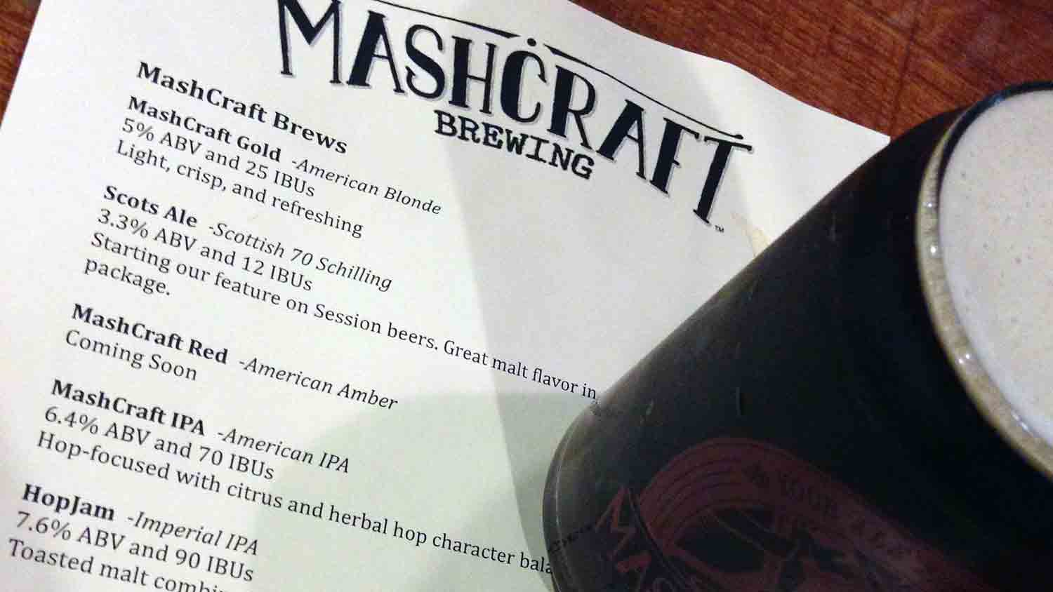 MashCraft Brewing Company