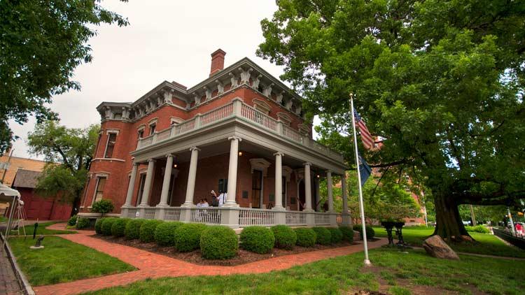 President Benjamin Harrison Presidential Site