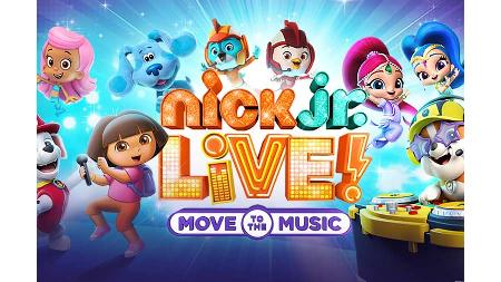 Win Two Tickets to See Nick Jr. Live