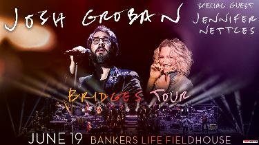 Win Two Tickets to See Josh Groban - Bridges Tour with Jennifer Nettles