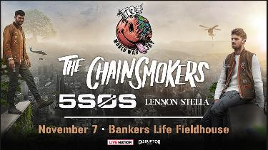 Win Two Tickets to See The Chainsmokers World War Joy Tour