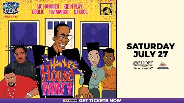 Win Two Tickets to See Hammer's House Party Featuring MC Hammer, Kid 'N' Play, Coolio, and More