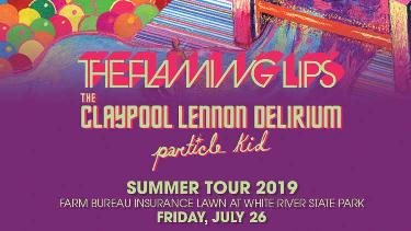 Win Two Tickets to See WTTS Rock On The River - The Flaming Lips with The Claypool Delirium and Particle Kid