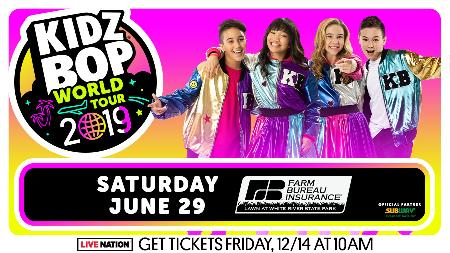 Win Two Tickets to See KIDZ BOP World Tour
