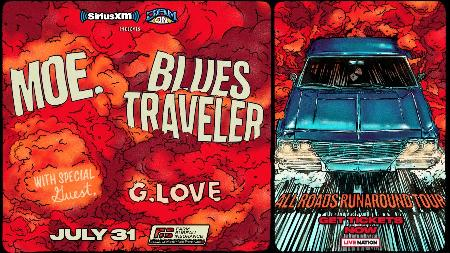 Win Two Tickets to See moe. & Blues Traveler with G. Love