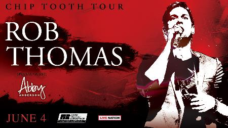 Win Two Tickets to See Rob Thomas with Abby Anderson