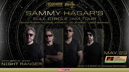 Win Two Tickets to See Sammy Hagar & The Circle with Night Ranger