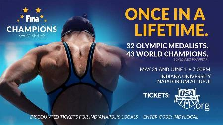 Win Four Tickets to FINA Champions Swim Series