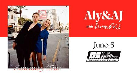 Win Two Tickets to See Aly & AJ with Armors