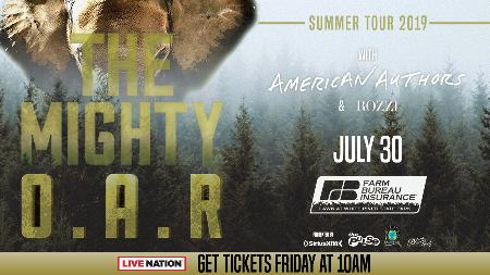 Win Two Tickets to See O.A.R. with American Authors and Rozzi