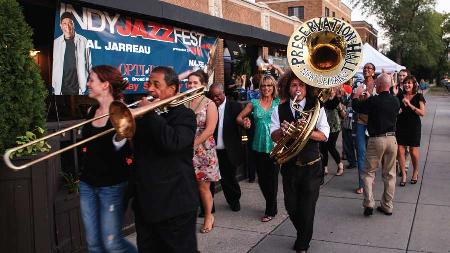 Win Admission for Two to Indy Jazz Fest Block Party