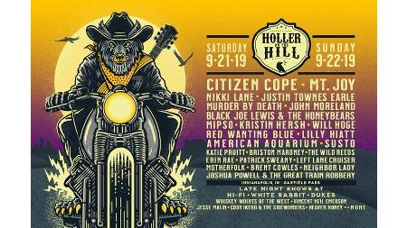 Win Three Tickets to Holler on the Hill