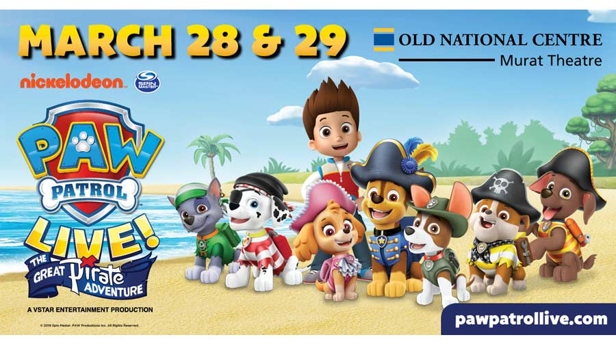 Win Four Tickets to see Paw Patrol Live