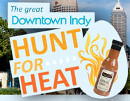 Great Downtown Indy Hunt for Heat