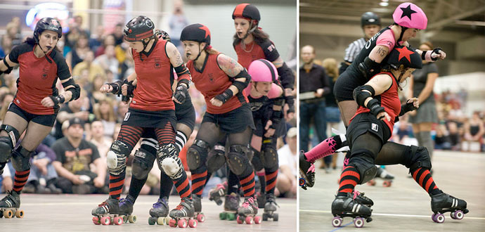 Season 8: Naptown Roller Girls vs. Cincinnati