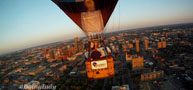 Hot Air Balloon Ride Over Indianapolis