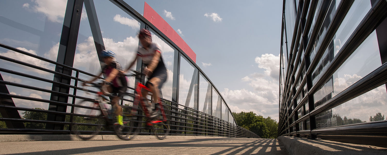 Riders on a Bridge