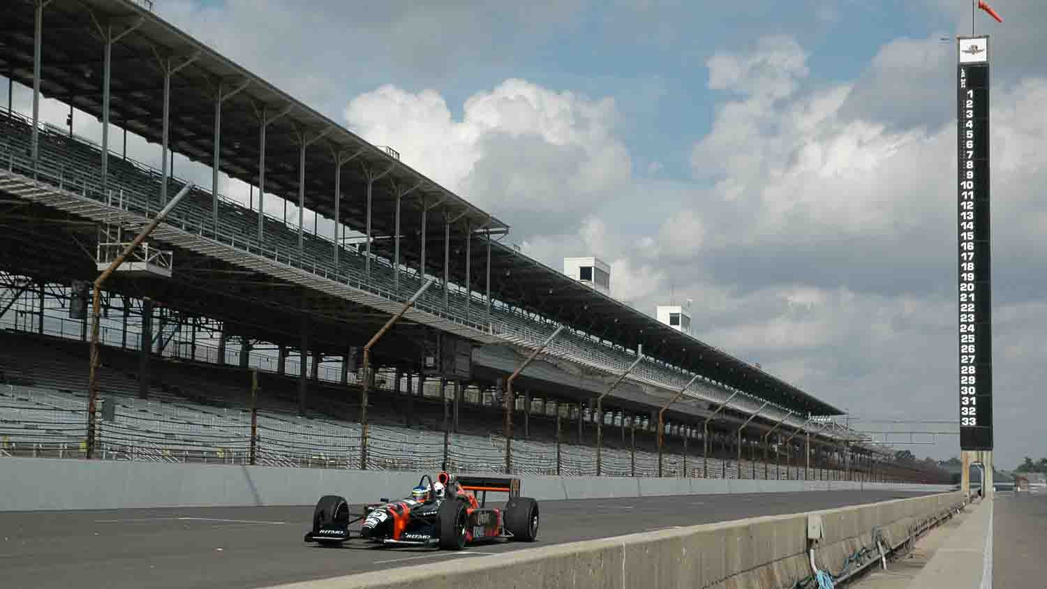 Racing in Indianapolis