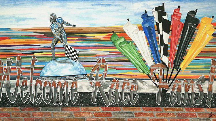 ANNA KAEHR: Welcome Race Fans