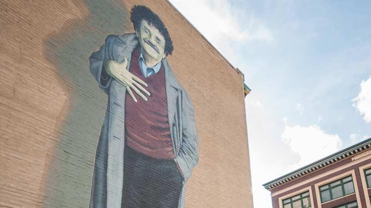 Vonnegut Mural