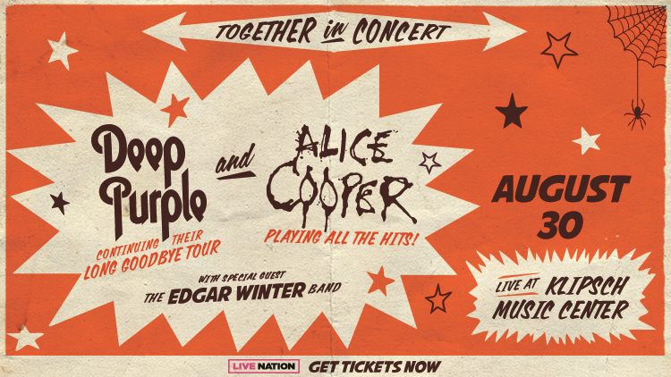 Deep Purple and Alice Cooper