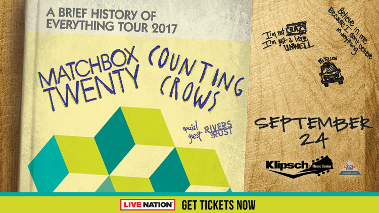 Matchbox 20 and Counting Crows