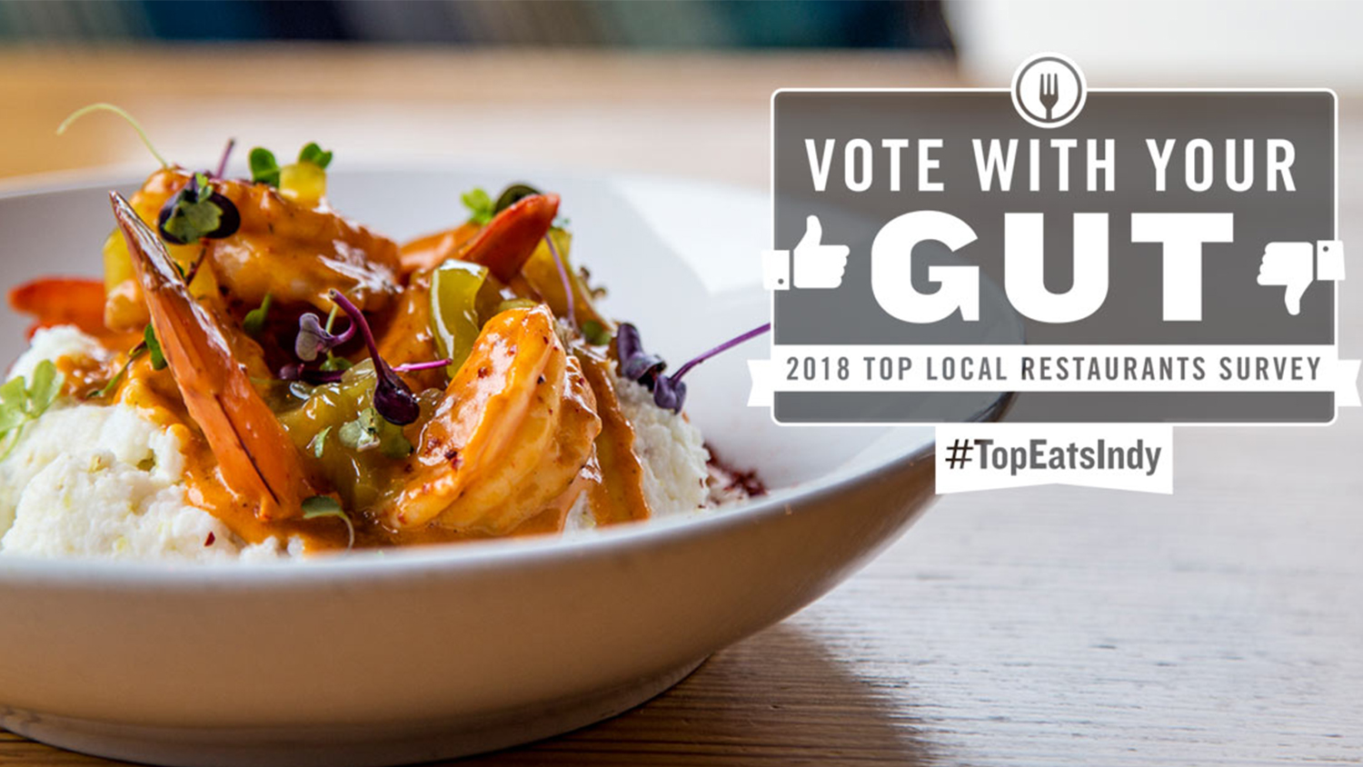 Top 25 Restaurants in Indy Vote