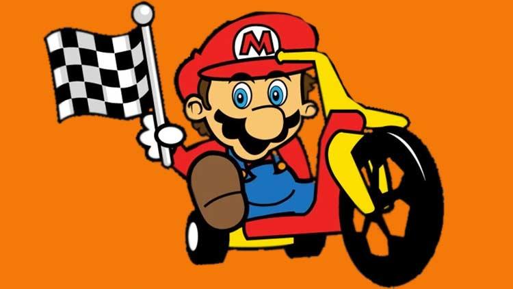 Human Mario Kart Indianapolis