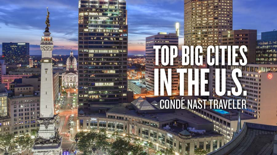 Top Big Cities in the US