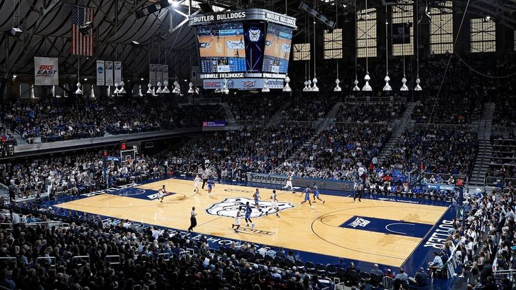 Hinkle Fieldhouse at Butler