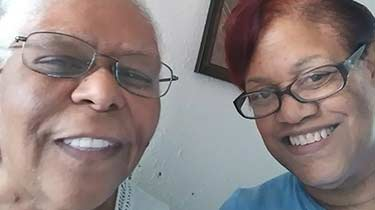 Joyce and Sharon Powell