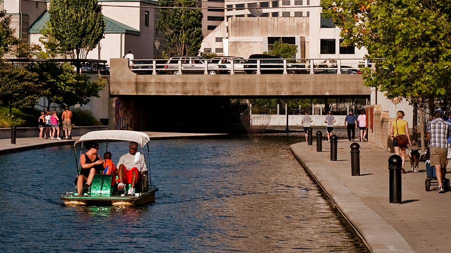 Pedal Boat on the Central Canal