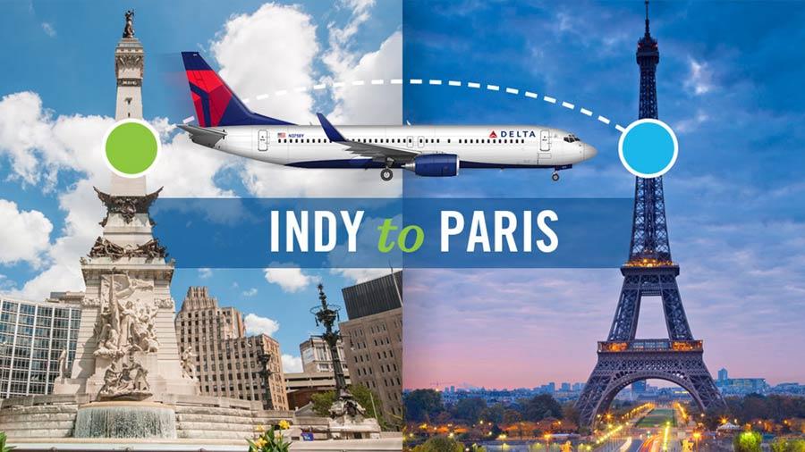 Indy to Paris