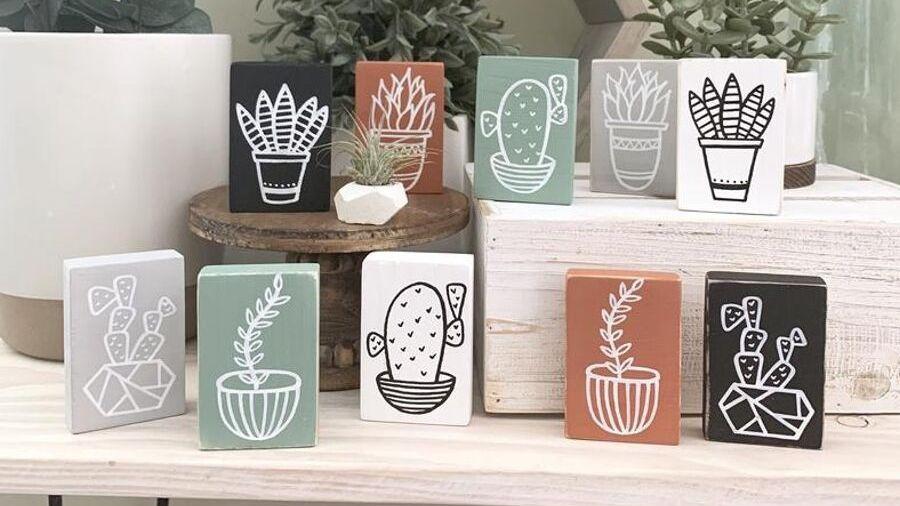 Ever Grace Designs cactus decorations