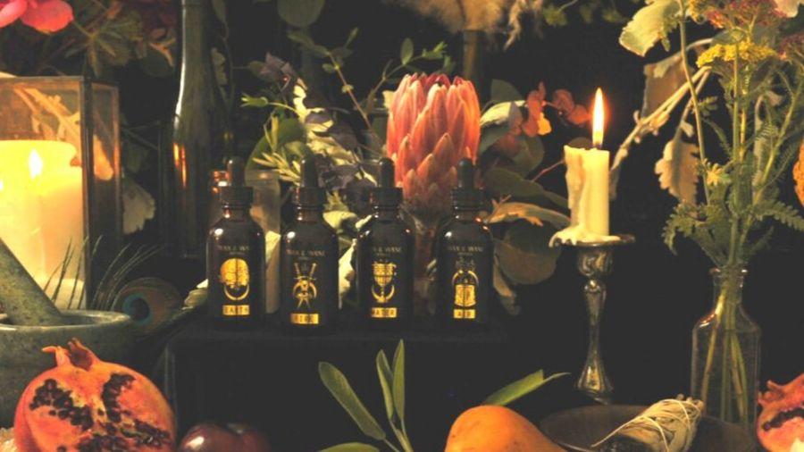 Wax and Wane Herbals vials