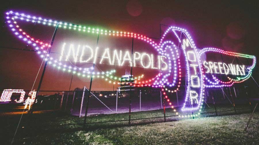 Indianapolis Motor Speedway Lights
