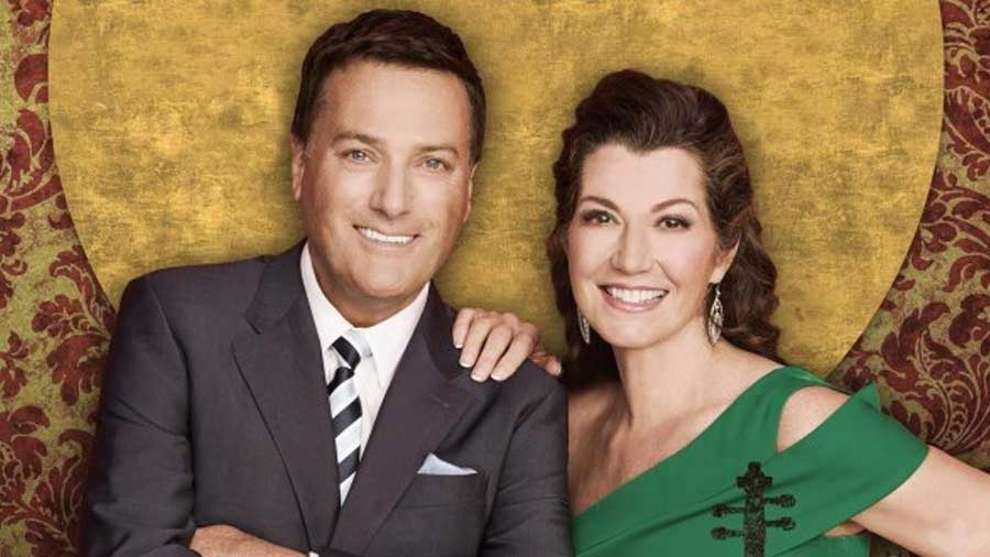 Amy Grant and Michael Smith