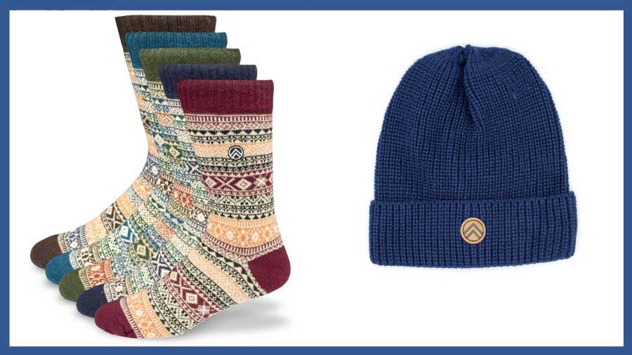 Sky Outfitters Socks and Hat