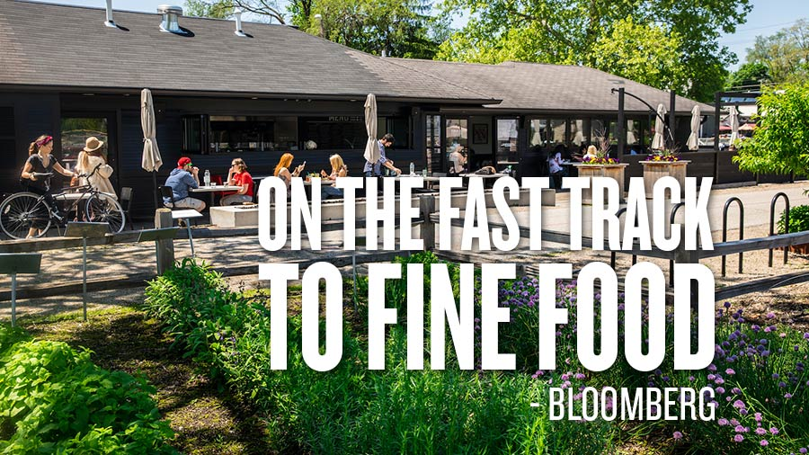 Bloomberg on the Fast Track