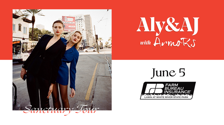 Aly and AJ in Indianapolis