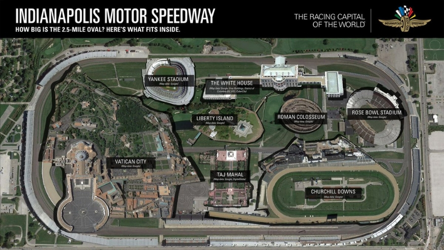 Inside the Indianapolis Motor Speedway