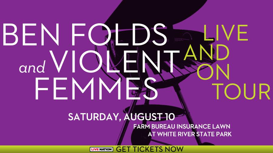 Ben Folds and Violent Femmes White River State Park