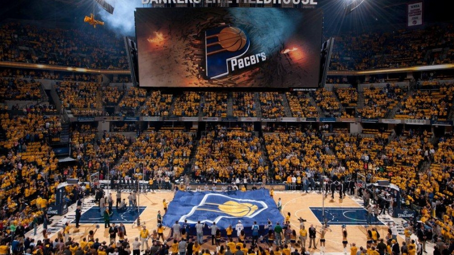 Bankes Life Fieldhouse Indiana Pacers