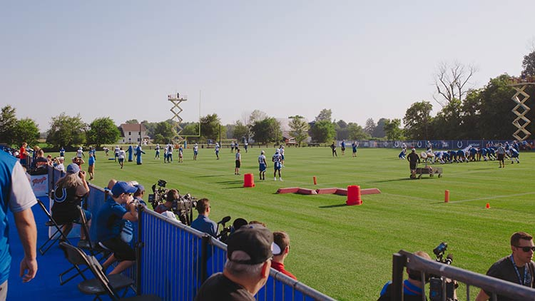 Colts Training Camp at Grand Park