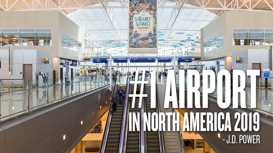 J.D. Power - Best Airport in North America