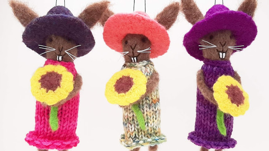 Woven Dimensions bunnies